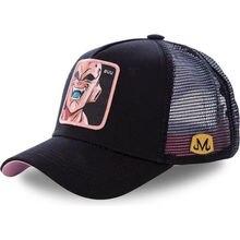 40b17ee4ee Nouvelle marque Majin Buu 12 Styles Dragon Ball Snapback coton casquette de  Baseball hommes femmes Hip