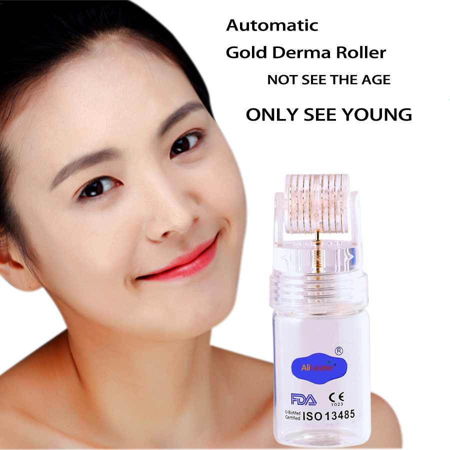 16ml Automatic Gold Derma Roller Achieve Whitening Empty Cosmetic Containers Essential Oil Bottles With Glass Refillable Bottles 100 pcs lot of small glass vials with cork tops 1 ml tiny bottles little empty jars