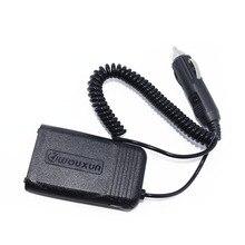 Original Wouxun KG UV8D 12V 24V Car Charger Battery Eliminator For Wouxun kg uv8d Plus KG UV8E Portable Walkie Talkie2 Way Radio