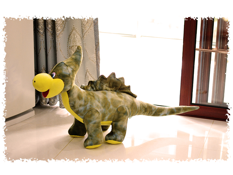 Denver dinosaur doll plush toy huge dinosaurs creative doll children birthday gift about 110cm цена