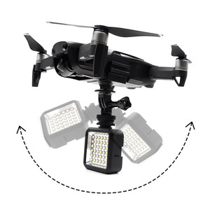 Image 5 - Free shipping Extended Landing Gear training Bracket Protector with Buoyancy Bar Floating Set Kit  For mavic air Accessories