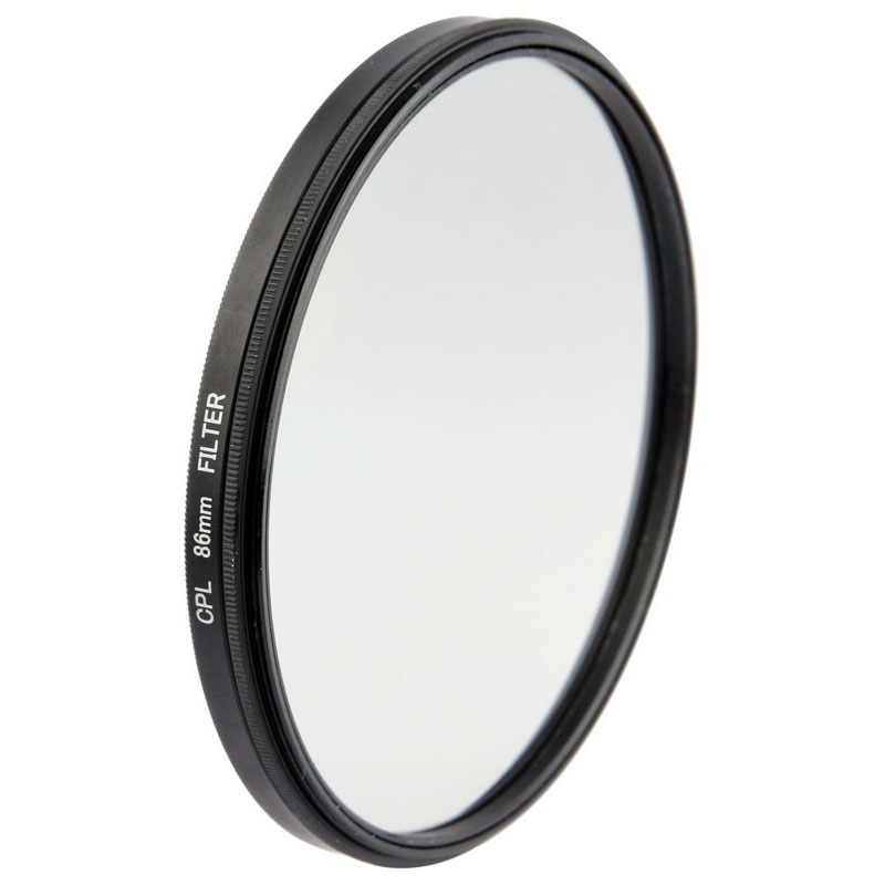 Professional <font><b>86mm</b></font> CPL Polarizer <font><b>Filter</b></font> Circular Polarizing <font><b>Filters</b></font> Avoid Bright Lights Filtro for Canon Nikon Sony Camera image