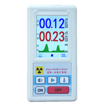 лучшая цена Smart Geiger Counter Dosimeter Beta Gamma X-ray Tester Display  Electromagnetic Nuclear Radiation Detector Marble Dosimeter