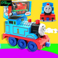 Tren eléctrico Vía del Tren Ranura Correr Corrió Trenes Tren De Juguete Divertido Juguete Eléctrico Pista De Coches Niño Construir Kid Familia PI0722