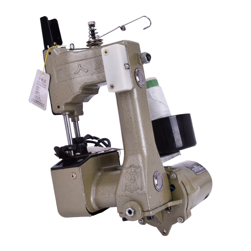 ФОТО 1PC gk9-2 Electric Mobile Packet Machine Sewing Machine Knitted Bags Packing Machine Sealing Machine