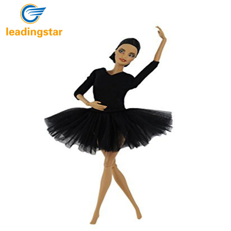 LeadingStar Fashion Handmade Ballet Dress Clothes for Barbie Doll Hot Selling Doll Accessories Toys For Children New Year Gift