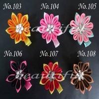 200 pcs Little Girls'E GrosgrainRibbon Hair Bows WITH Clip, HairBows/Hair Clips/Hair Pins Accessories