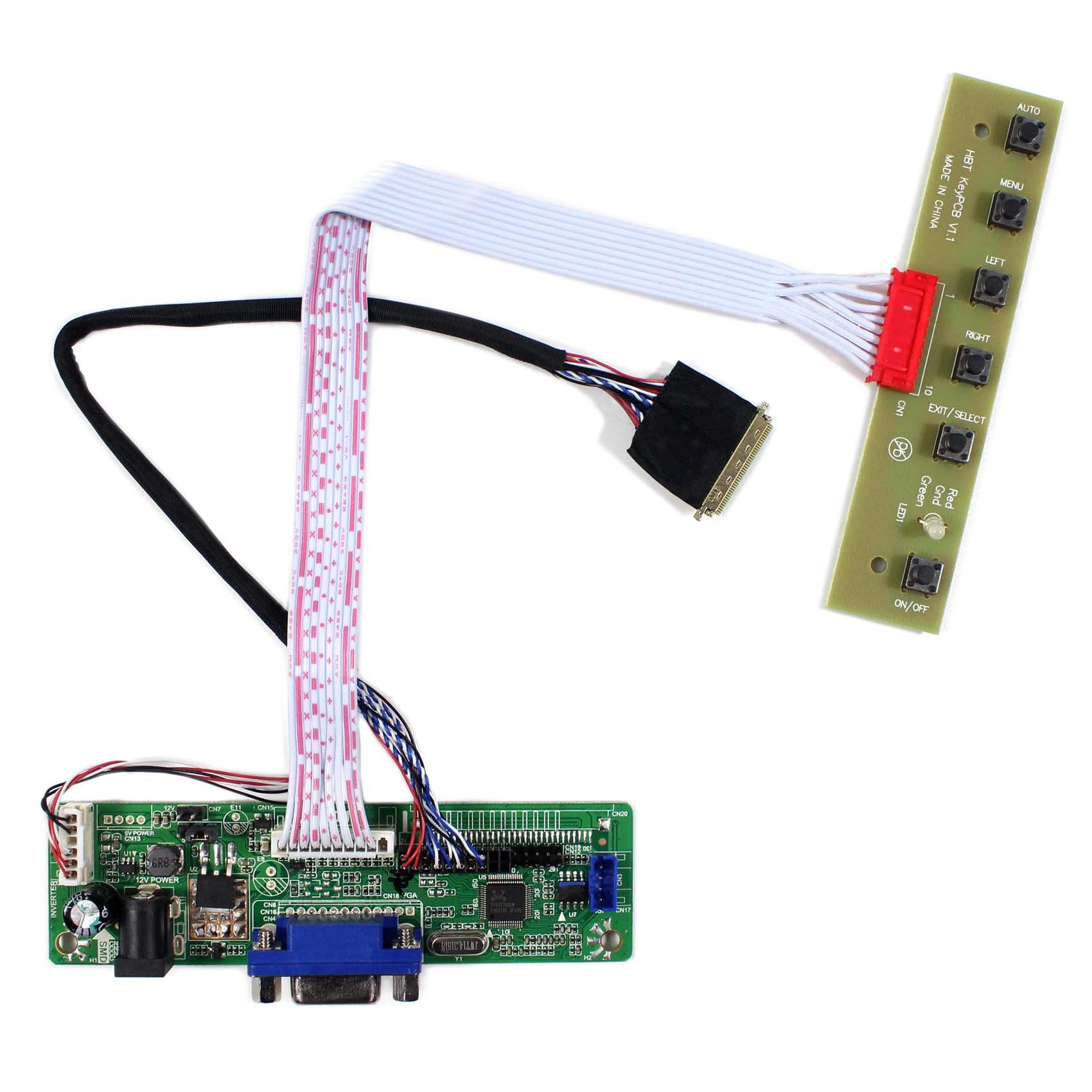 VGA LCD Controller Board Work for LTN154P1-L03 LTN154P1-L04 LCD Panel