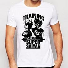 Dragon Ball Z Super Saiyan Fashion Son Goku Men's T-Shirt