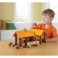 Tree Haus165pcs Log Cabin Log Building Blocks