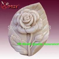 Güller ve yaprakları modelleme silikon sabun kalıp fondan Kek dekorasyon kalıp Yüksek Kaliteli El Yapımı sabun kalıp NO.: SO397
