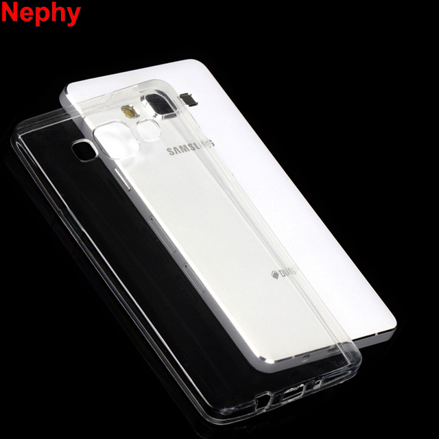 Nephy Case For Samsung Galaxy A3 A5 A7 2015 2016 2017 A 3 5 7 Duos A300 A310 A320 Cover TPU Silicon Clear Casing Housing