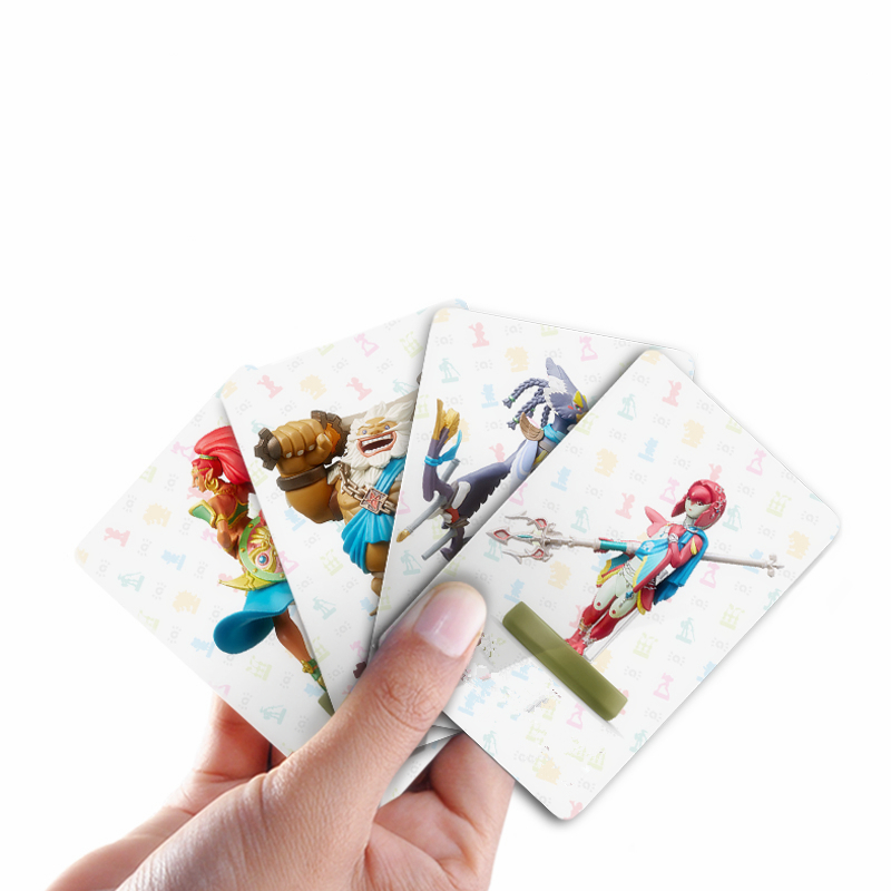 22pcs/lot Custom Legend Of Zelda Card Tag Data NFC Game Cards Mario 20 Heart Wild Wolf card Children's toys Birthday gifts 30 pcs lot vintage food postcard landscape greeting card christmas card birthday card message gift cards