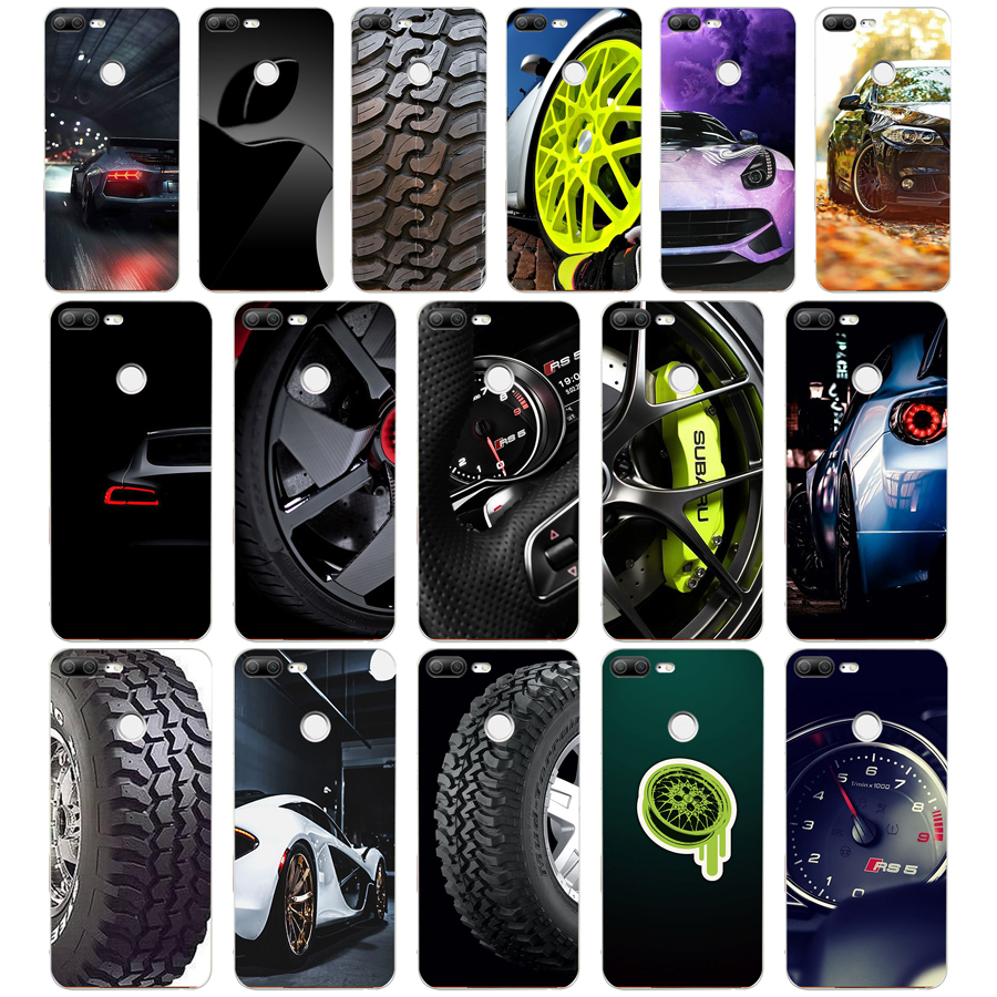 210DF New Brand Car Speed Yokohama Drift Soft Silicone Tpu Cover Phone Case For Huawei Honor 9 Lite 10 P 9 10 Lite