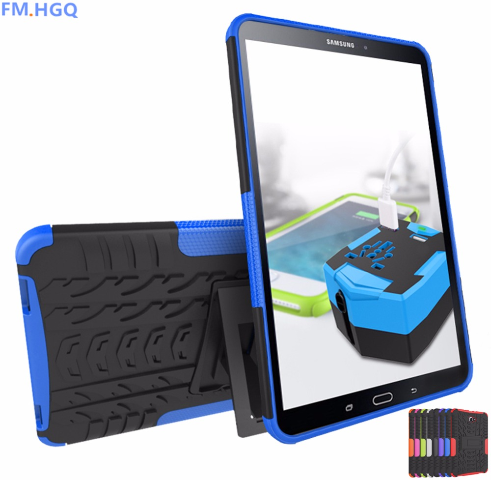 Case For Samsung Galaxy Tab A a6 10.1 2016 T580 SM-T585 T580N Cover Heavy Duty 2 in 1 Hybrid Rugged Durable Funda Tablet Shell