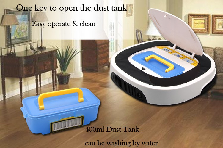 2018 Intelligent Robot Vacuum Cleaner D5501 Big Mop With Water Tank, 2 Suction Nozzle,Schedule Wet And Dry Mop Robotic Vacuum wet and dry robot vacuum cleaner auto charge big mop water tank intelligent washing vacuum cleaner d5501 cordless vacuum cleaner