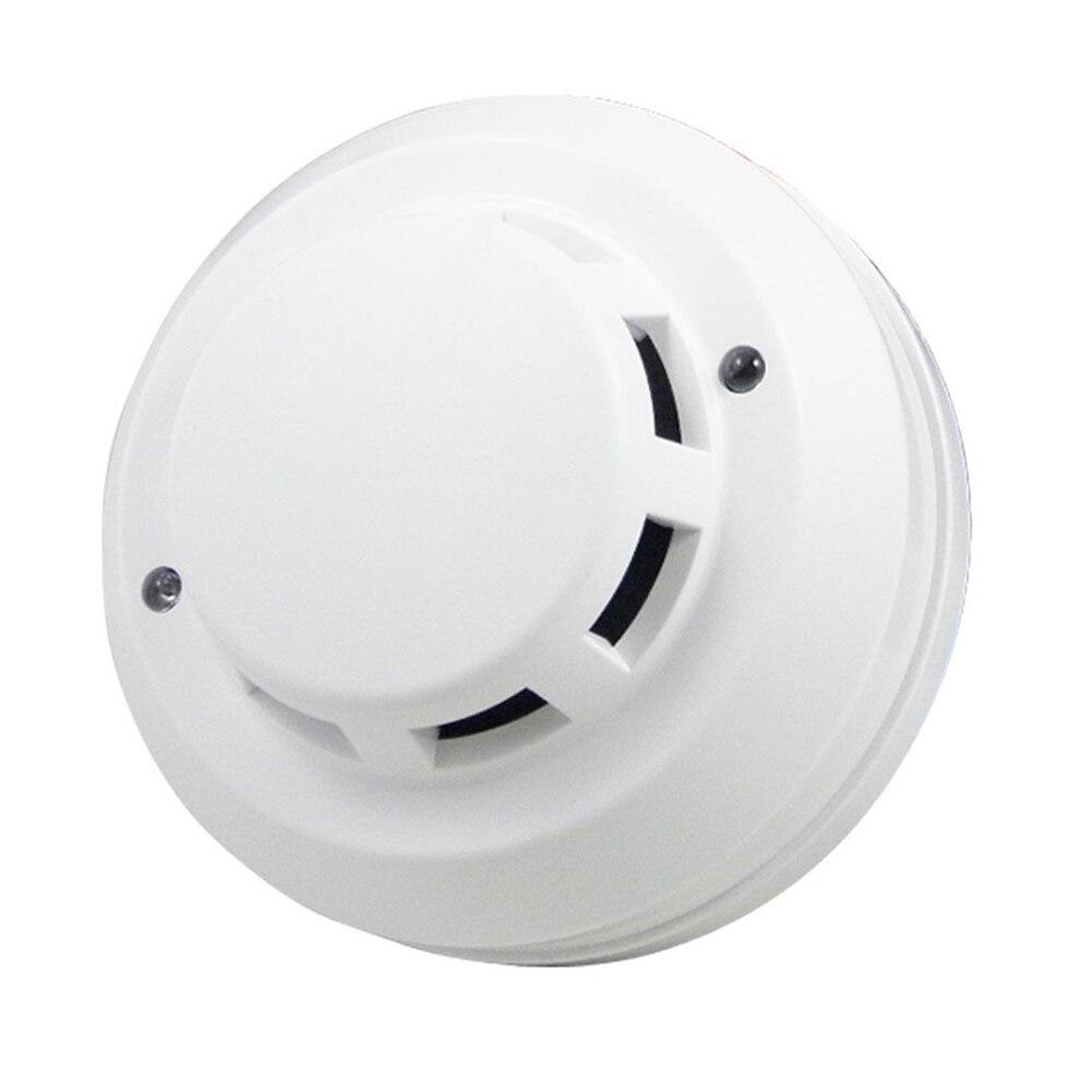 Оптовая продажа безопасности фотоэлектрический детектор дыма огня Сенсор 4 Провода точки соединения ...