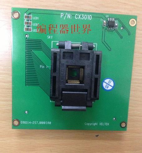 Free shipping New XELTEK SUPERPRO adapter test socket CX3010 DX3010