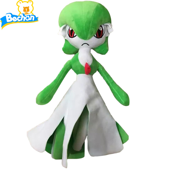 Factory Sale Anime Poke Monsters Gardevoir Plush Doll 35cm Pikachu Plush Toy Soft Stuffed Toys Christmas Gift for Kids