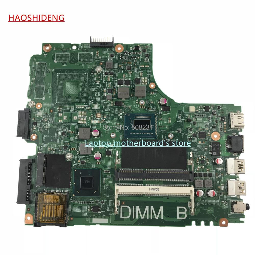 HAOSHIDENG CN-0K37YC 0K37YC mainboard For Dell Inspiron 14r 3421 5421 motherboard With SR0N8 I5-3317U CPU,fully Tested ...