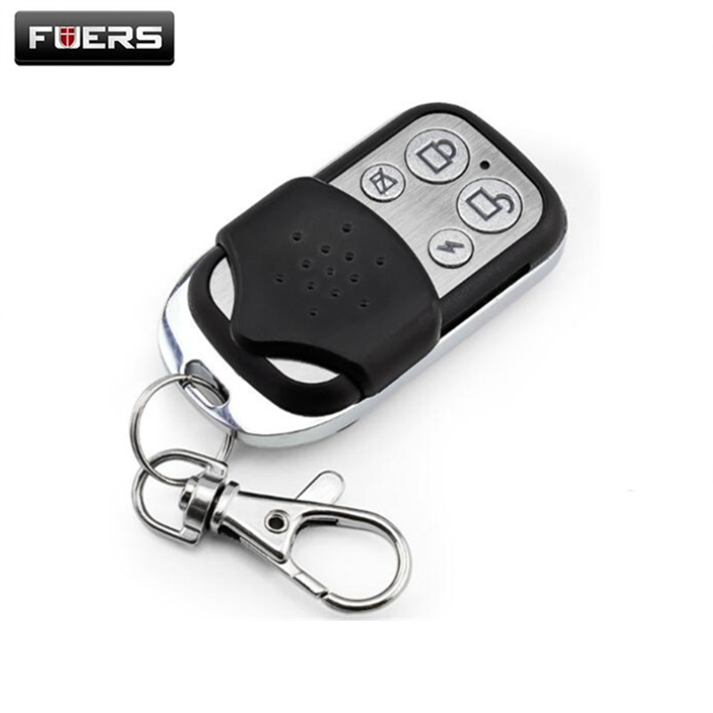 Fuers Wireless 433mhz Alarm Remote Control Metal Alarm Keychain Remote Controller Working For Alarm Systems 10A Q2 G18 G19 8218G
