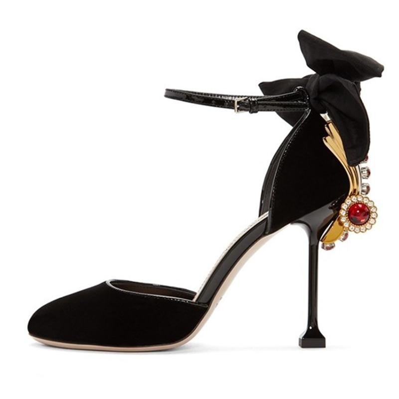 ФОТО Krazing Pot New fashion brand shoe big size stiletto pink crystal wedding super high heel women pumps party sandals causal shoe