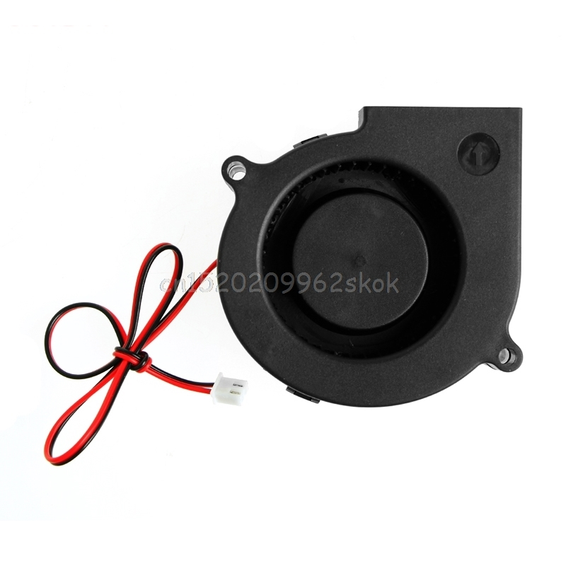75mmx30mm DC 12V 0.24A 2-Pin Computer PC Sleeve-Bearing Blower Cooling Fan 7530 #H029# 50mmx15mm dc 12v 0 14a 2 pin computer pc sleeve bearing blower cooling fan 5015 r179t drop shipping