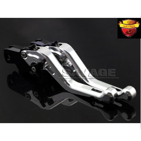 For BMW R1200 R/RT/S/ST/GS R1200GS R1200S R1200ST R1200R R1200RT Silver Motorcycle Adjustable CNC Short Brake Clutch Levers adjustable billet long folding brake clutch levers for bmw k1600 gt gtl 11 14 12 13 k1300 k1200 r s r1200 r rt s st gs 04 14 05