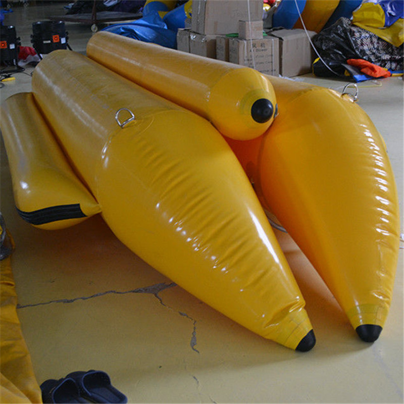 Inflatable Seaside Water Toys Inflatable Water Banana Boat inflatable banana boat towable water sports inflatable flyingfish gonflable flyfish trilling banana boat on hot sale