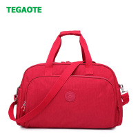 TEGAOTE NEW Folding Travel Bag Nylon Travel Bags Hand Luggage for Men & Women Fashion Travel Duffle Bags Tote Large Handbags