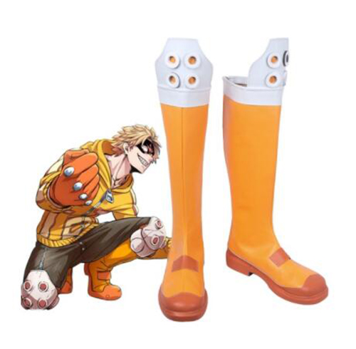 Boku no Hero Academia Taishiro Toyomitsu Cosplay Boots My Hero Academia BMI Hero Fat Gum Cosplay Shoes Men Shoes Accessories