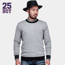 25BOY HARDLYEVERS Solid Sweater Trendy Streetwear