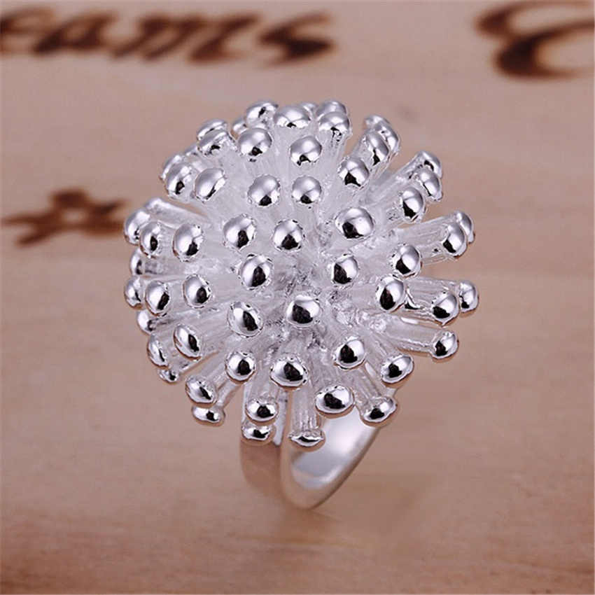 Christmas Sale free shipping girl silver ringsilver color Ring jewelry factory wholesale hot sell fashion jewelry R001