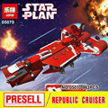 Lepin 05070 New Star War Series The Republic Cruiser Set Children Educational Building Blocks Bricks Toys Model funny Gifts 7665