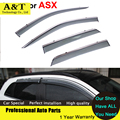 car styling Window Visor For Mitsubishi ASX 2013 2014 2015 Rain PC Rain Shield Covers Car-Styling Accessories Awnings Shelters