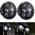 5.75 Inch Led Headlights For Triumph Rocket iii 3 & Speed Triple & Street Triple & Thunderbird (2 pieces)