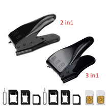 UANME 2 IN 1 / 3 Micro SIM to Nano Mano Sim Card Cutter For iPhone X 8 7 6 6S Plus 5S 5 5C SE Samsung & Eject Pin Key