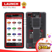 LAUNCH X431 Pro Mini Bluetooth Wifi Full ECU Diagnostic Scanner With 2 Years Free Update X