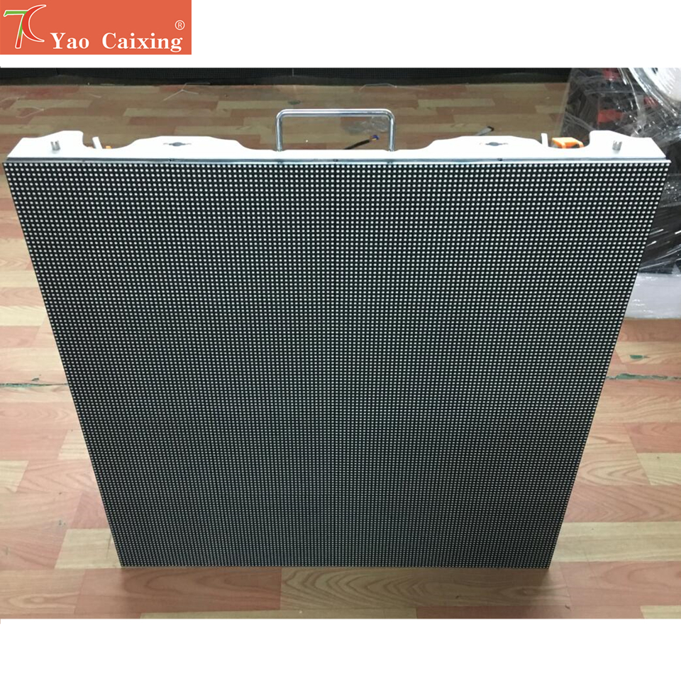 Outdoor 768x768mm 128*128pixels 3in1 SMD 1/8 Scan RGB P6 Full Color Dot Matrix LED Cabinet Screen Advertising Media LED Display