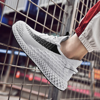 LZBU 2019 new explosion models wild Korean version of the trend of men's sports and leisure shoes winter breathable men's shoes