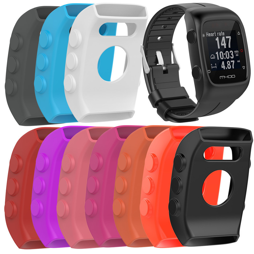 Hot Sale Smart Watch Soft Silicone Case for POLAR M400 Colorful Durable Protective Shell Perfect fit for polar m 430 Wristband цена