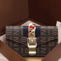 TinTon hot sell 2018 hasp mini chain bag for women patchwork letter shoulder bags clutches fashion bags women elegant handbags