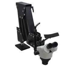 ЮВЕЛИРНЫЕ ИНСТРУМЕНТЫ стерео микроскоп с 7x-45x микроскоп для ювелирных изделий и стоматологических инструментов с более четкими линзами