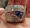 High Quality NFL 2001 New England Patriots SUPER BOWL World Championship Champions Ring solid Men Christmas Gift Free Shipping