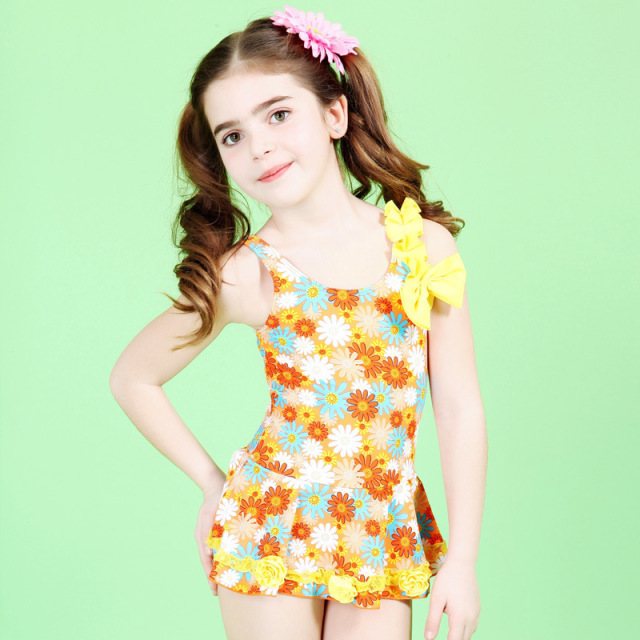 Swimming Suit Kids Bathing Suit Kids Girl Swimsuit Children Cute ...