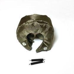 Tytan Turbo koc osłona termiczna pokrywa T3 turbosprężarki lawy turbosprężarki koc pokrywa T04R TD07 TD08 GT35 GT45 TD04 GT25