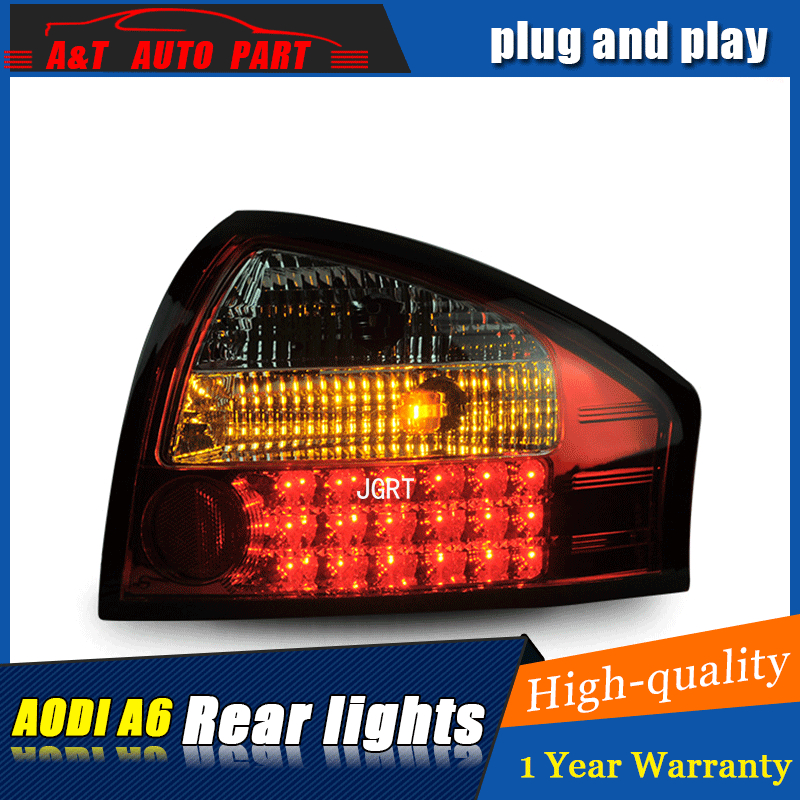 Car styling Accessories for Audi A6 rear Lights led TailLight 2001 2004 for A6 Rear Lamp