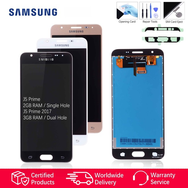 Original LCD for SAMSUNG J5 Prime Display Samsung J5 Prime Replacement Screen Touch Galaxy On5 On7 G570 G570Y G570M G570F G6000