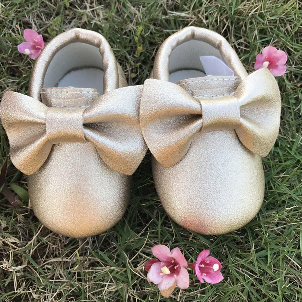 Nette Kinder Zu Fuß Turnschuhe Mädchen Leder Schuhe Bogen Knoten Weiche Sohle Krippe Schuhe Kinder Outdoor Sports Turnschuhe