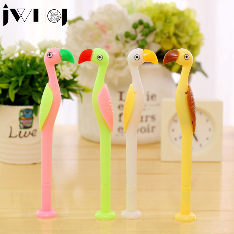 1 pcs Creative cute ostrich gel pen material kawaii Plastic stationery school office writing supplies child's gift Free shipping vine sfere comter fashion leisure plastic creative office conference household cr free shipping